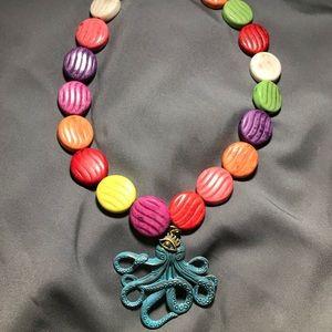 Handmade Beaded necklace!